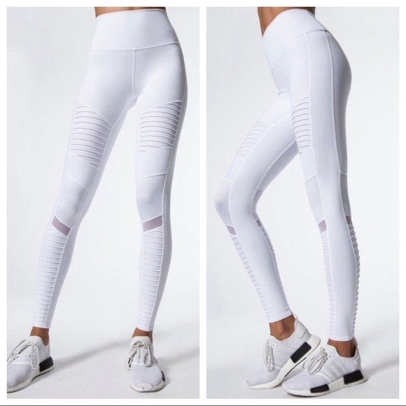 4b0a9bceab163 ALO Yoga Pants | Brand New High Waisted Moto Leggings | Poshmark